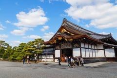 Ninomaru pałac przy Nijo kasztelem w Kyoto, Japonia Fotografia Stock