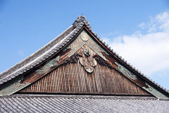 Ninomaru Palace royalty free stock photography