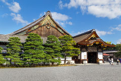 Ninomaru Palace at Nijo Castle in Kyoto Stock Photo