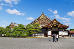 Ninomaru Palace at Nijo Castle in Kyoto Royalty Free Stock Photos