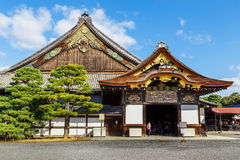 Ninomaru Palace at Nijo Castle in Kyoto Stock Photos