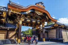 Ninomaru Palace at Nijo Castle in Kyoto, Japan Royalty Free Stock Photos