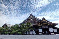 Ninomaru slott av den Nijo-jo slotten, Kyoto, Japan Royaltyfria Bilder
