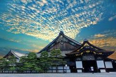 Ninomaru slott av den Nijo-jo slotten, Kyoto, Japan Royaltyfri Foto