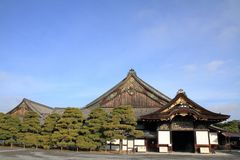 Ninomaru slott av den Nijo slotten Arkivbilder