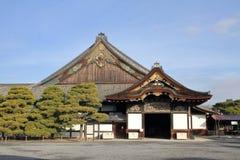 Ninomaru slott av den Nijo slotten Royaltyfri Foto