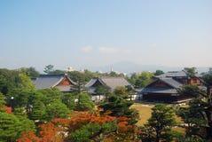 Ninomaru slott, Kyoto, Japan Royaltyfria Foton