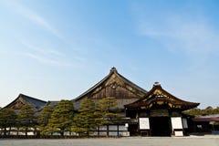 Ninomaru slott, Nijo slott Royaltyfria Bilder