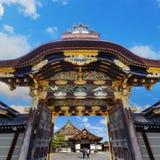 Ninomaru slott på den Nijo slotten i Kyoto Arkivfoto