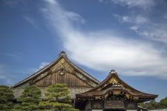 Ninomaru slott på den Nijo slotten i Kyoto Royaltyfria Bilder
