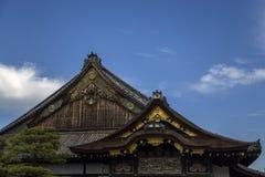 Ninomaru slott på den Nijo slotten i Kyoto Fotografering för Bildbyråer