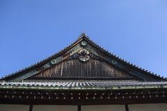 Ninomaru slott på den Nijo slotten i Kyoto Royaltyfri Bild