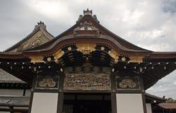 Ninomaru slott på den Nijo slotten, Kyoto, Japan Arkivbilder
