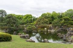 Ninomaru trädgård Royaltyfria Bilder