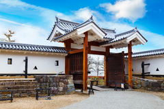 Ninomon (Inner Gate) at Matsumoto Castle in Matsumoto City, Nagano Royalty Free Stock Photography