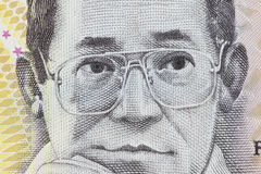Ninoy Aquino du peso 500 philippin Photos stock