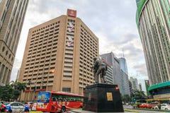 Ninoy Aquino Monument in Makati Stock Photography