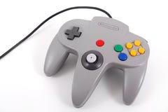 Nintendo 64 ελεγκτής Στοκ φωτογραφία με δικαίωμα ελεύθερης χρήσης