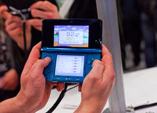 Nintendo 3ds Photographie stock