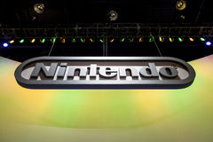 Nintendo bij E3 2012 Royalty-vrije Stock Foto
