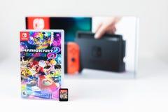 Nintendo commuta Mario Kart Deluxe 8 immagine stock
