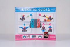 Nintendo commuta Mario Kart Deluxe 8 immagini stock libere da diritti