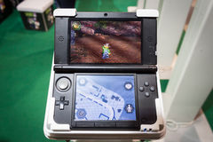 Nintendo-console in Cartoomics 2014 Stock Afbeelding