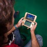 Nintendo console at Cartoomics 2014 Royalty Free Stock Photography