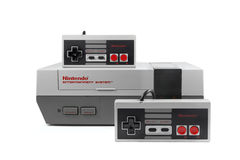 Nintendo Entertainment System Stock Image