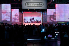 Nintendo at GamesCom 2010 Royalty Free Stock Photography