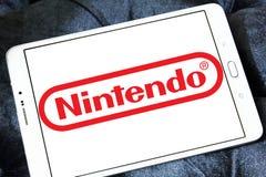 Nintendo logo arkivbilder