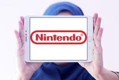 Nintendo logo royaltyfria foton