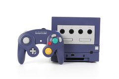 Nintendo`s GameCube Video Game Console royalty free stock images