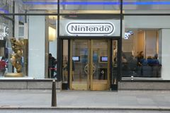 Nintendo stockent image libre de droits