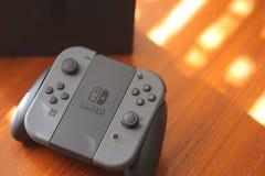 Nintendo strömbrytarekonsol Royaltyfria Bilder