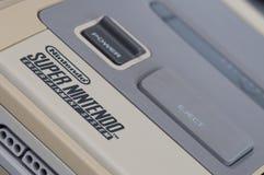 Nintendo super (SNES) imagem de stock