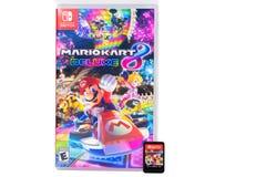 Nintendo Switch Mario Kart Deluxe 8 stock photo