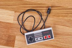 Nintengo NES controller royalty free stock images