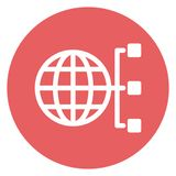 Internet connection Isolated Vector Icon which can easily modify. NInternet connection Isolated Vector Icon which can easily modifyn royalty free illustration