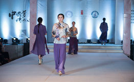 Ninth series bamboo trace-Fashion Show Stock Image
