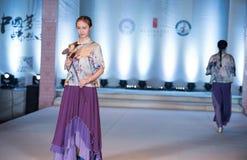 Ninth serii mody bambusowy przedstawienie Zdjęcia Stock