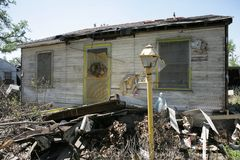 Ninth Ward Home Stock Images