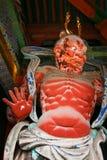 NIO στην πύλη της λάρνακας Nikko Toshogu στην Ιαπωνία στοκ εικόνα