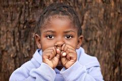 Niño africano Imagenes de archivo