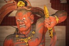 Nio (Benevolent Kings) at Shitennoji Temple in Osaka Royalty Free Stock Photos