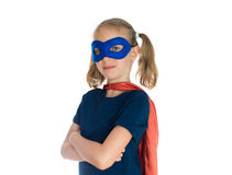Niño del super héroe Fotografía de archivo