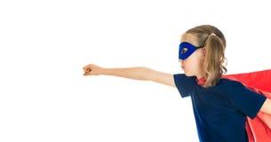 Niño del super héroe Imágenes de archivo libres de regalías