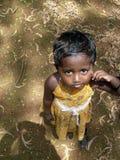 Niño esperanzado Foto de archivo libre de regalías