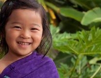 Niño feliz Foto de archivo libre de regalías