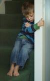 Niño infeliz Fotos de archivo libres de regalías